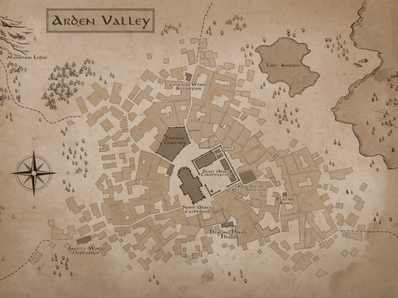 Fantasy maps for your stories or games