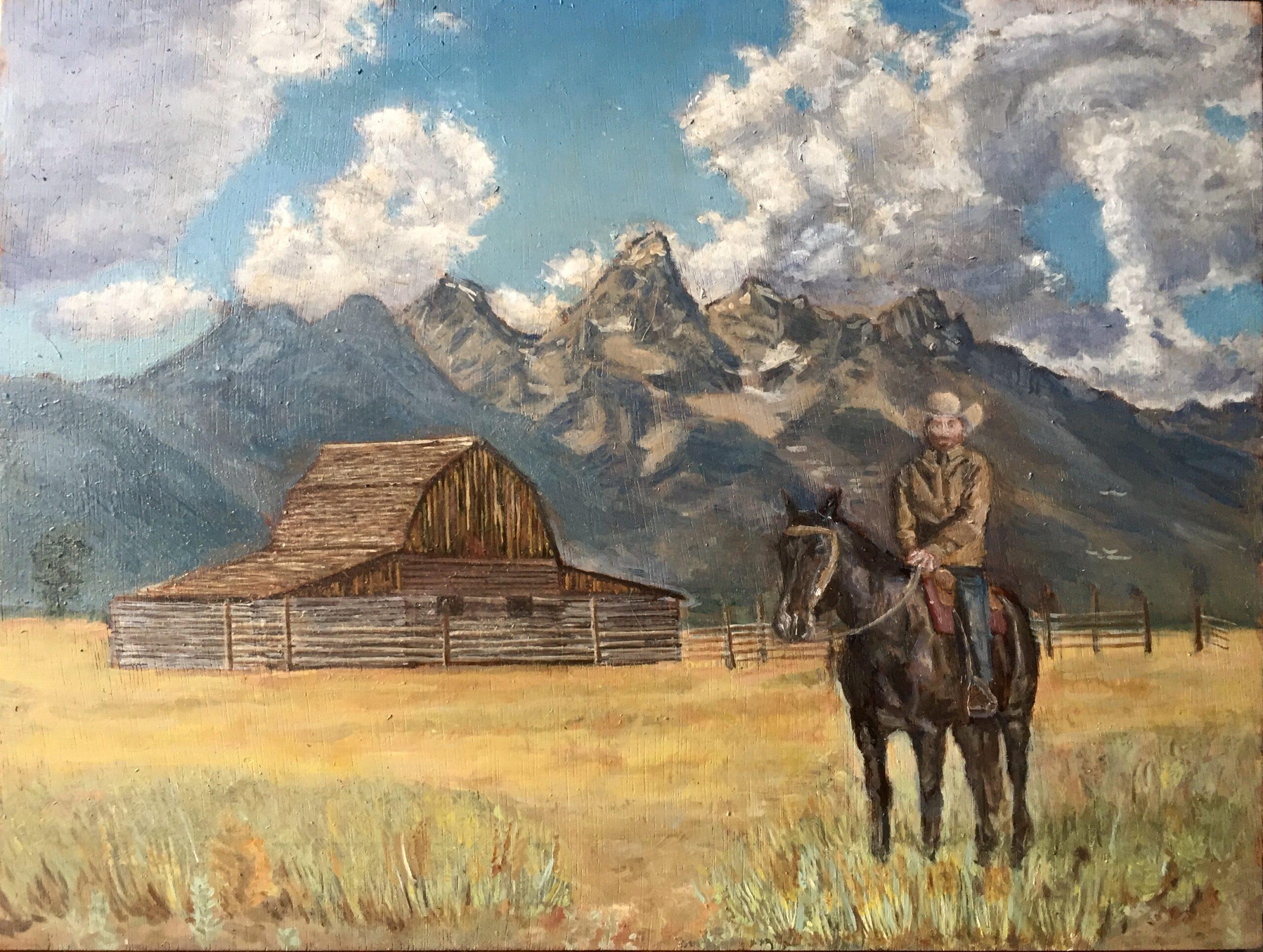 Landscape/western/fantasy oil paintings
