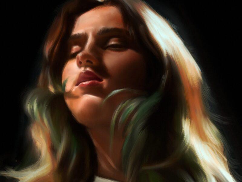 Semi Realistic Digital Painting Portrait