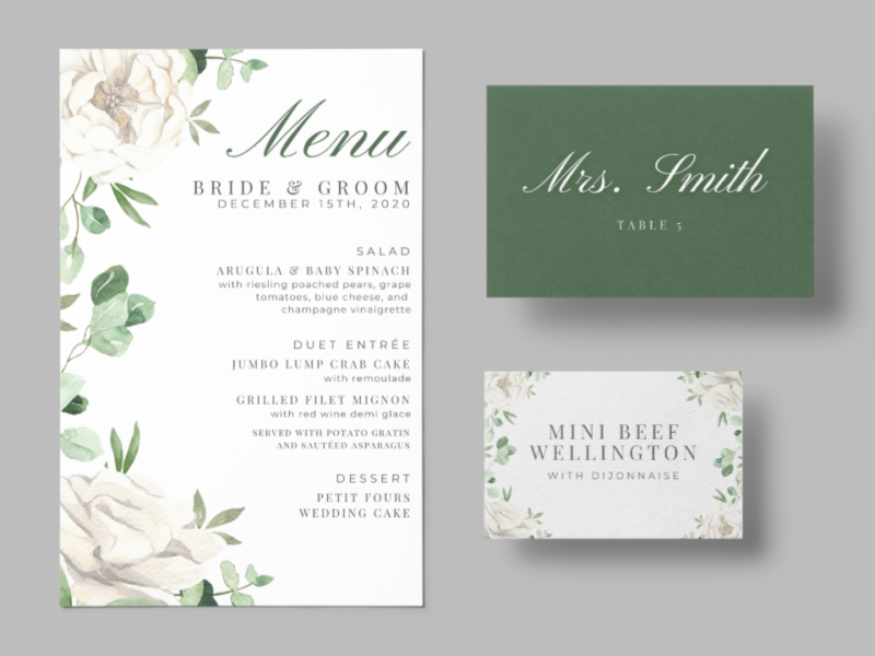 Customized Event Stationery